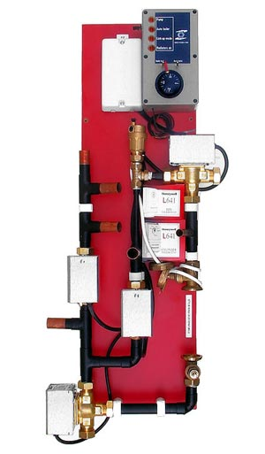 h2 panel h2 link up heating and hot water system controller h2 rh boilerstoves co uk Electrical Sub Panel Wiring Diagram 100 Amp Panel Wiring Diagram