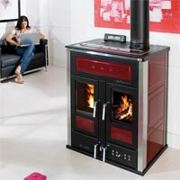 Klover BiFire Mid Log and Pellet Boiler Stove
