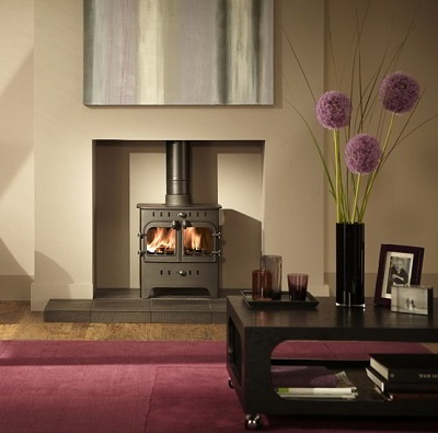 Villager C Flat Wood Duo Stove