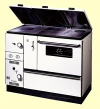 Wamsler K178 series central heating cooker boiler stove