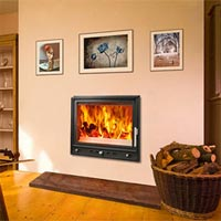 Woodfire RS 12 insert boiler stove